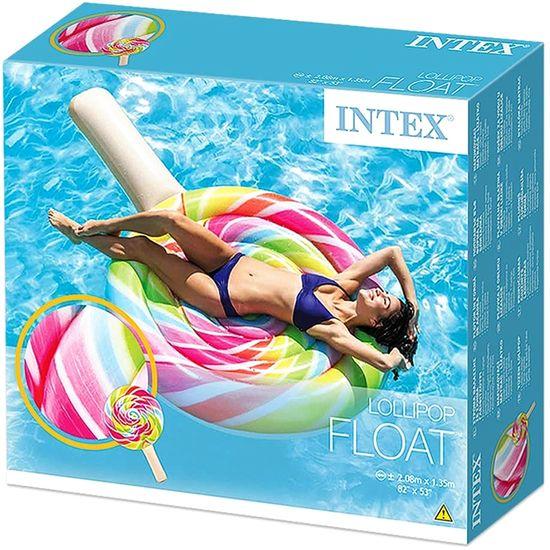 Intex LOLLIPOP napihljiva blazina lizika
