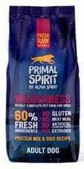 Primal Spirit Dog 60% Wilderness Food 12 kg