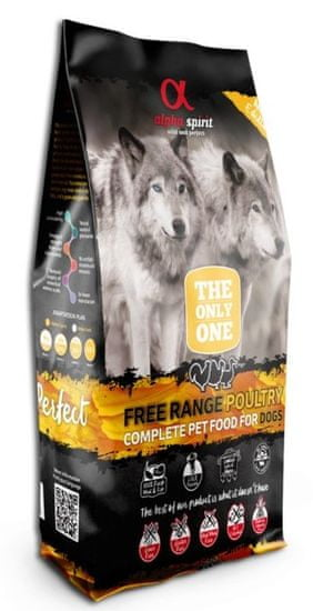 Alpha Spirit The Only One Complete Dog Food Poultry 12 kg