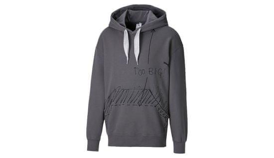 Puma Tričko x Michael Lau 2Big Men's Hoodie farba šedá | veľkosť M