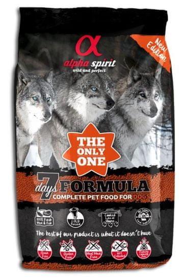 Alpha Spirit The Only One Complete Dog Food 7 Days 3 kg