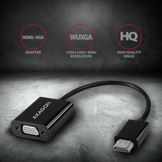 AXAGON RVH-VGN HDMI na VGA ADAPTER