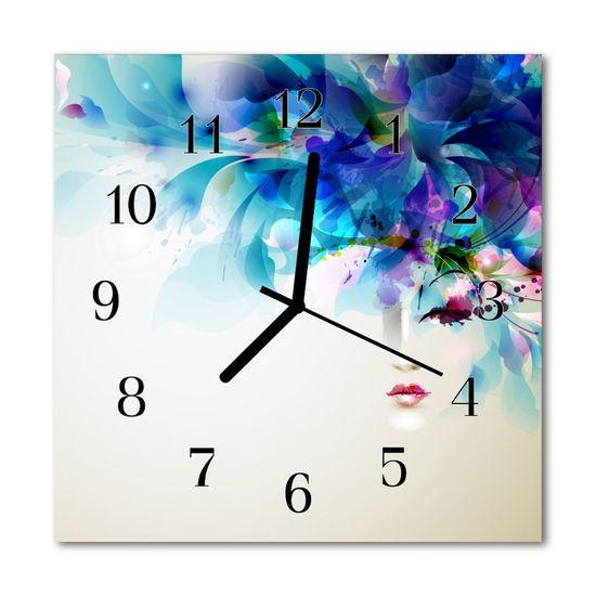 tulup.sk Nástenné sklenené hodiny Abstrakcie