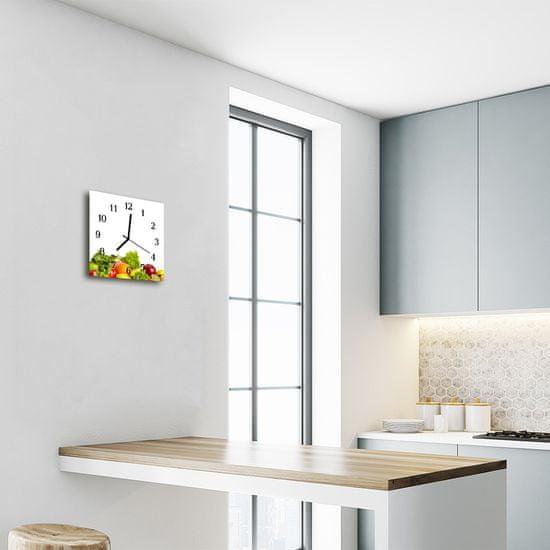 tulup.hu Szögletes fali üvegóra Növényi
