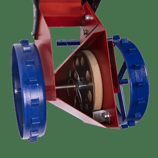 Secí stroj na cibuli a česnek Vinita, mechanický, jednořádkový