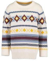 Blue Seven dječački džemper 869071 X, 92, kremast