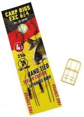 Extra Carp Návazec Rig EX 666 BL Velikost Háčku: 2