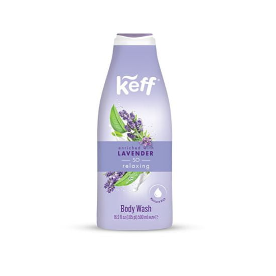 Keff Umývacie krém Levandule (Cream Wash) 500 ml