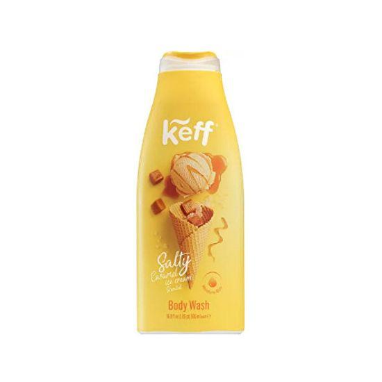 Keff Umývací gél Slaný karamel (Salty Caramel Body Wash) 500 ml