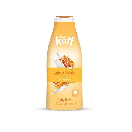 Keff Umývacie krém Mlieko & med (Milk & Honey Cream Wash) 500 ml
