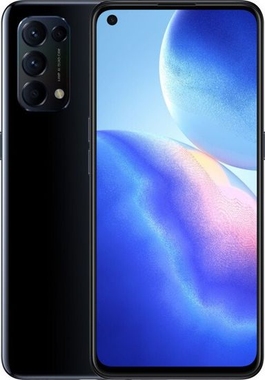 Oppo Reno 5 8GB/128GB 5G, Starry Black