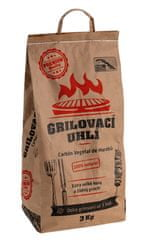 Carbón Vegetal Grilovací uhlí Carbón Vegetal de Marabú 3kg