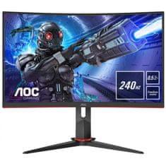 AOC C27G2ZU gaming monitor (C27G2ZU/BK)