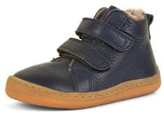 Froddo chlapecká barefoot zimní kotníčková obuv G3110195-K 28 tmavě modrá