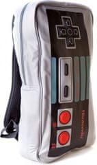 Nintendo Šolska torba NES controler 17.5 litra, sivo črna