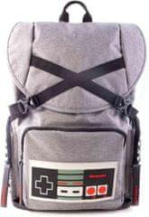 Nintendo Šolska torba NES Controler 17 litrov, siva
