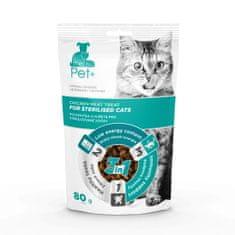 thePet+ Cat Sterilised treat priboljški za sterilizirane mačke, 20×80 g