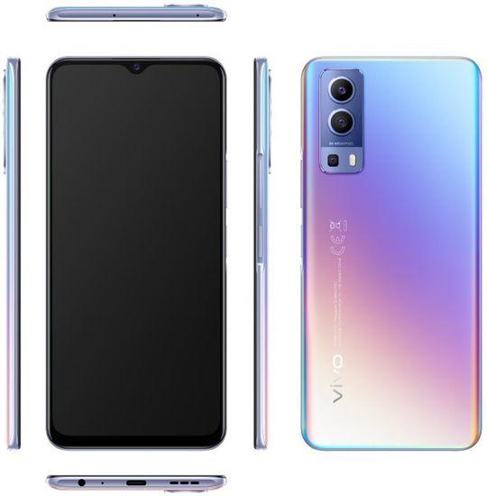 VIVO Y72 5G, 8GB/128GB, Modrá Glow