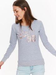 shumee Popolnoma skrivnostno žensko pulover s tiskom, velikost XL