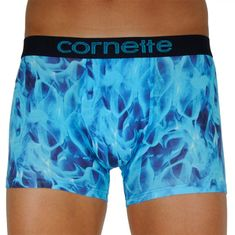 Cornette Pánské boxerky High Emotion modré (508/106) - velikost M