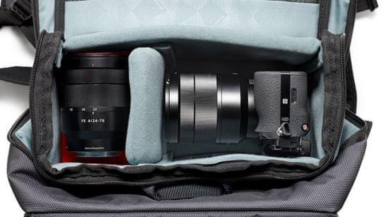 Manfrotto Manhattan Fotografski nahrbtnik Mover-50 za DSLR/CSC (MB MN-BP-MV-50) + GRATIS - PIXI MINI namizno stojalo (MTPIXI-B)