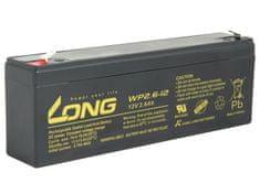 Long  baterie 12V 2,6Ah F1 (WP2.6-12)