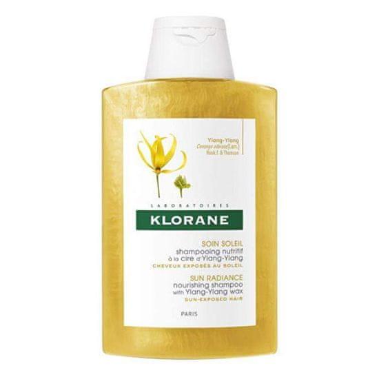 Klorane Sun Radinace (Nourishing Shampoo) tápláló sampon a napfénytől igénybevett hajra