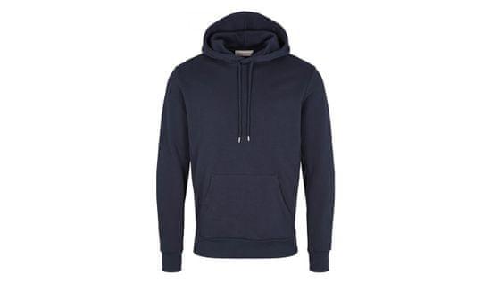 By Garment Makers Mikina The Organic Hood Sweatshirt Jones farba modrá   veľkosť M