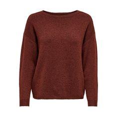 ONLY Ženski pulover ONLPRIME 15206674 Fired Brick (Velikost S)