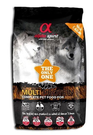 Alpha Spirit hrana za pse The Only One Complete Dog Food Multiprotein, 3 kg