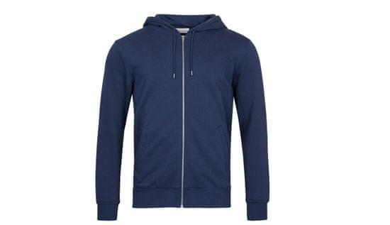 By Garment Makers Mikina The Organic Hoodie farba modrá | veľkosť M