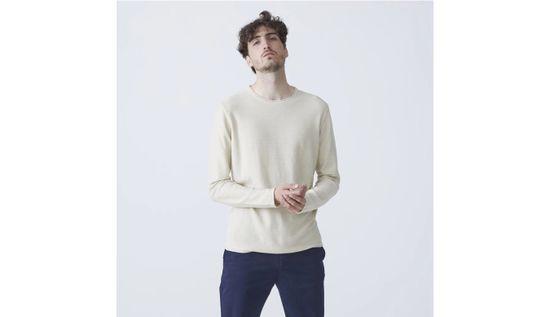 By Garment Makers Mikina Alvin farba svetlohnedá   veľkosť M