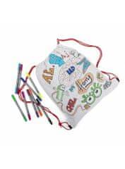 eatsleepdoodle Doodle - batôžtek na vyfarbovanie - vyfarbuj a uč sa