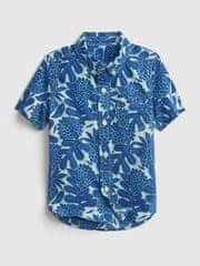Gap Dětská košile poplin shirt 5YRS