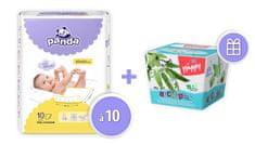 Panda podkładki higieniczne - 10 szt.