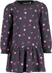 Blue Seven dievčenské šaty 963058 X, 68, tmavosivá