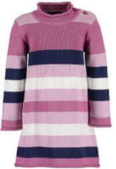 Blue Seven dievčenské pletené šaty 963067 X, 68, ružová