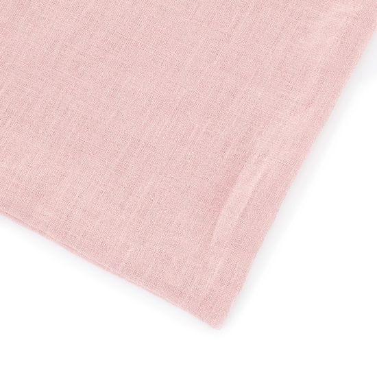 TomLinen Lněné dětské povlečení Pudrově růžová 135x100, 40x60