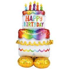 Amscan Fóliový balónek obří dort 1,27m