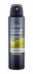 Dove 150ml men + care minerals + sage 48h, antiperspirant