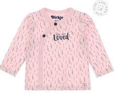 Dirkje dívčí zavinovací tričko WDB0204 50 růžová