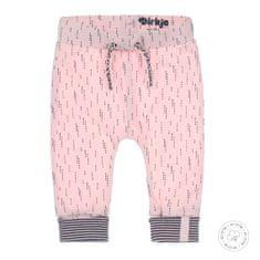 Dirkje dívčí tepláky WDB0402 50 růžová