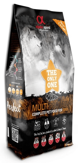 Alpha Spirit The Only One Complete Dog Food Multiprotein 12 kg