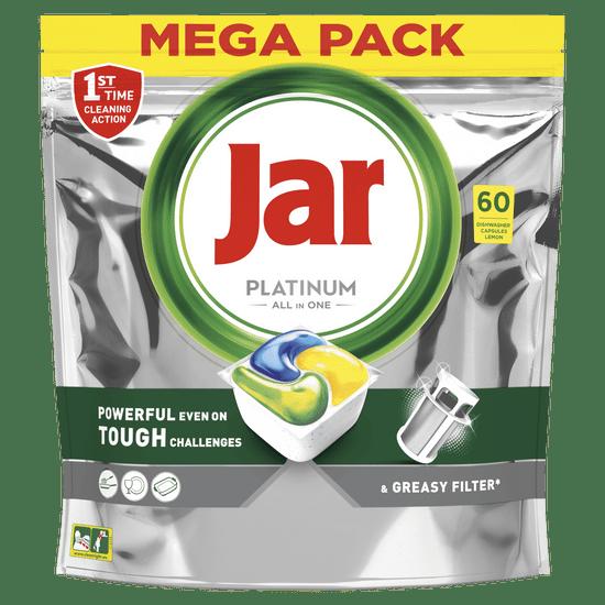 Jar Platinum All in One automata mosogatógép kapszula citrom, 60 db