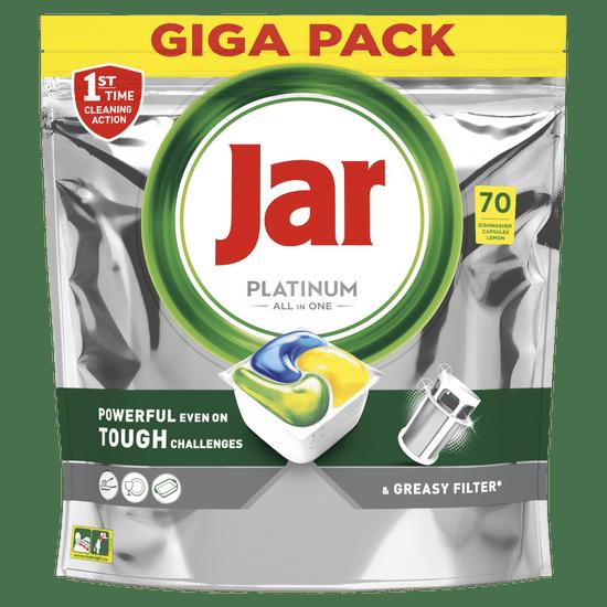 Jar Platinum All in One automata mosogatógép kapszula citrom, 70 db