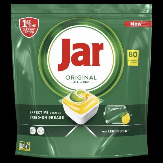 Jar Original All in One automata mosogatógép kapszula citrom, 80 db