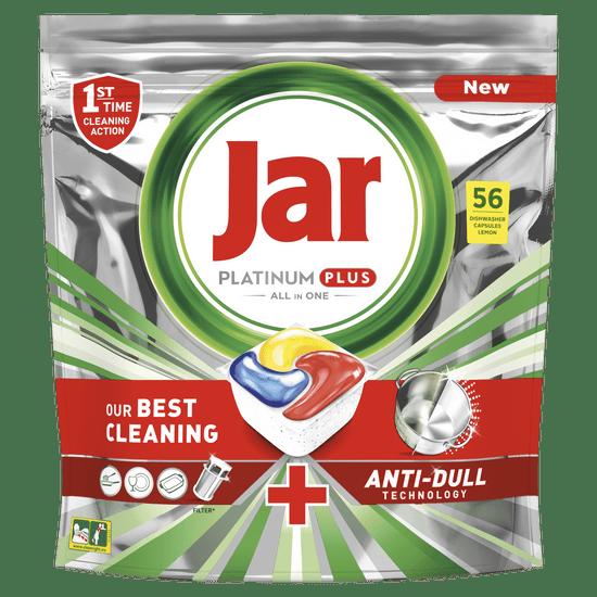 Jar Platinum Plus All in One automata mosogatógép kapszula citrom, 56 db