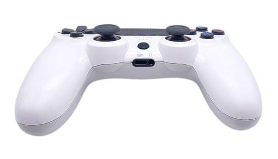 T-GAME DS6 biely bezdrôtový herný ovládač pre PS4 a PC
