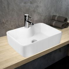 Hagser Alexa umývadlo, 48x37 cm, biela, HGR20000041