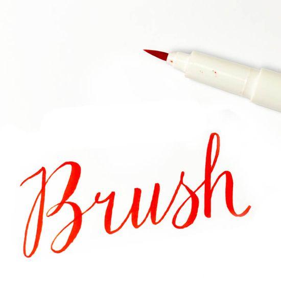 Marvy Umělecké fixy se štětcovým hrotem Artist Brush sada 5ks EARTH